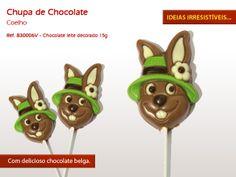 Coelhinhos de chocolate :)