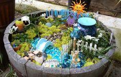 Nice 42 Creative Diy Fairy Garden Ideas. More at http://decoratrend.com/2018/06/04/42-creative-diy-fairy-garden-ideas/
