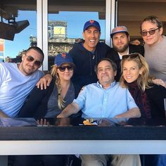 Amy Schumer is having quite the Sunday fun day!  The star was spotted at a New York Mets game with her father and boyfriend Ben Hanisch.  Schumer took to Instagram to share a photo of herself sitting with Jonah Hill, Matthew Broderick and Jerry and Jessica Seinfeld.