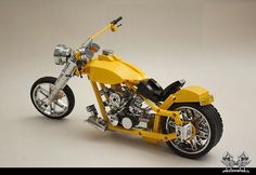 Harley Davidson ''88 Yellow''