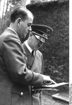 Speer, an architect, was for years the closest anyone came to being a friend of Hitler. Hitler at one time gave Speer a watercolor of a Gothic church....Speer was the leader of the anti-Goering faction of defendants: those willing to condemn Nazi policies and accept some degree of blame.