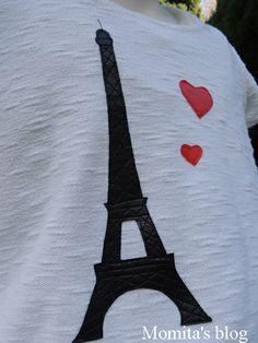 DIY : Tutorial aplicación patchwork  en una camiseta