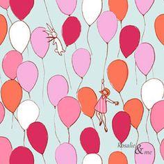 Fat+Quarter+-+Balloons+-+Michael+Miller+von+Rosalie&me+auf+DaWanda.com