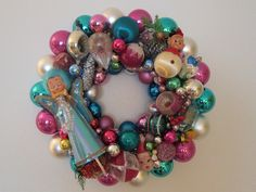 §§§ : glass ornaments wreath