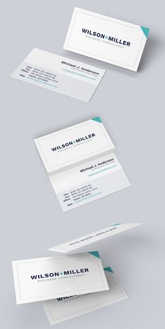 Business Card Template - TYPO