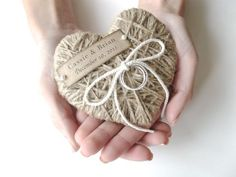 Ring Bearer Pillow reuse as Christmas ornament by AlisaMayde