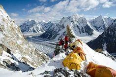 Campo I en Broad Peak. 8051 m. Karakorum. Pakistán