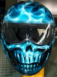 Wicked Drag Racing Helmet!