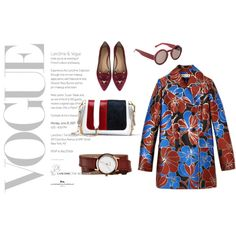 Burgundy vintage look by mdlrprboy on Polyvore featuring polyvore, fashion, style, Marni, Charlotte Olympia, Nixon, vintage and clothing