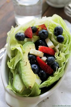 A Very Berry Avocado Salad