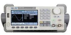 Siglent SDG5122 Arbitrary Function Generator is a 2-channel function generator. Waveform function Generator Counter SDG5122 2ch features 120Mhz 500MSa/s 16K+512K. Siglent's SDG5122 includes DDS technology, 14 bit vertical resolution etc.