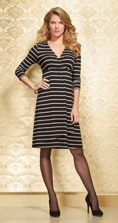 #Soma Elise Dress in Energy Stripe #MySomaWishList