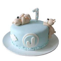 Bear cake #miraquetarta
