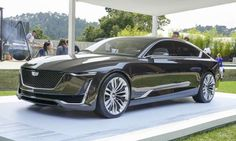 "Debuting this past summer at the 2016 Pebble Beach Concours d'Elegance, the gorgeous Escala concept also graced the Cadillac display at the L.A. Auto Show. The Spanish word for ""scale,"" Escala suggests what a new flagship sedan from GM's luxury marque might look like."