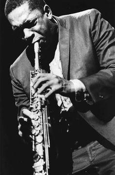 John Coltrane, July 1966