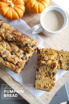 Best Chocolate Chip Pumpkin Bread Recipe   PepperDesignBlog.com