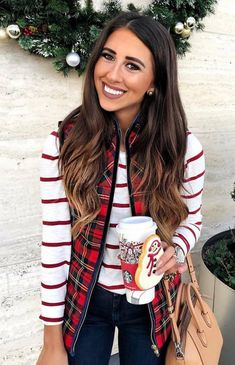 New ideas for moda casual outfits winter shirts Casual Holiday Outfits, Classy Winter Outfits, Fall Outfits, Cute Outfits, Vest Outfits, Fashion Outfits, Winter Shirts, Athleisure Outfits, Looks Style