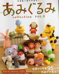 Free Book Crochet Animals amigurumi,crochet