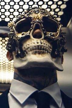 mask, masque, head guard, face shield, etc. Overwatch, Fashion Models, Mens Fashion, Skull Mask, Cool Masks, Masquerade Ball, Skull And Bones, Headgear, Headdress
