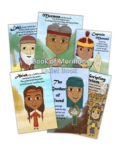 bust out your crayons: Book of Mormon Quiet Book