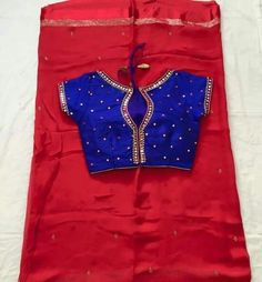 Mirror work Chiffons/Georgette Sarees paired up with beautiful mirror work blouses.. Can be customized to any color of your choice... To order, pls WhatsApp on +91 94929 91857 #designer #mirror #ethnic