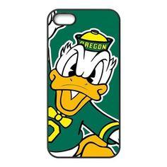 Fashion Popular NCAA Oregon Ducks Team Logo Durable Rubber Iphone 5 Case by NCAA for iphone 5