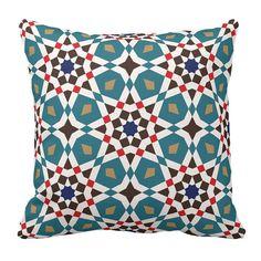 BeautyCrafts Decorative Pillow   motif Turkish by EscraftsHome, $29.90
