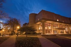 The Musical Arts Center  -- Indiana University School of Music / Bloomington, Indiana