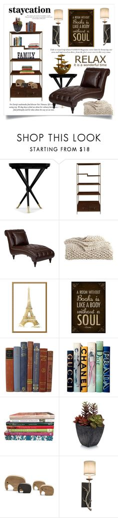 """""""@ Home"""" by conch-lady ❤ liked on Polyvore featuring interior, interiors, interior design, home, home decor, interior decorating, Living by Christiane Lemieux, DKNY, Amanti Art and Motif Designs"""