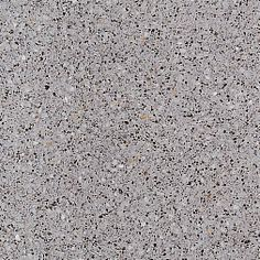 L-463. Formato: 40x40 cm. Composición: mármol triturado gris, negro y blanco y fondo gris marengo. #terrazo #terrazzo #pavimento