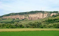 "Natural Reserve ""Red Ravine"" - panoramic view 1 - Sebesh town, Alba county, Romania"