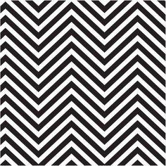 Thirstystone Occasions Trivet,, Black & White Chevrons, Multicolor