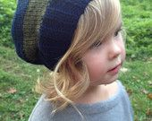 Charcoal grey slouch hat 12-24 mo. $18.00, via Etsy.