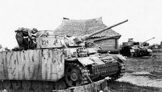 Abandoned tank Pz.Kpfw.III Ausf.M from 33rd tp 9th TD (9.Pz.Div.).