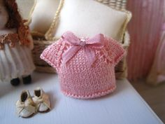 1/12 DOLLHOUSE BABY CLOTHES. One inch scale by SyreetasMiniatures