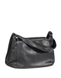 Tech-Friendly Leather Shoulder Bag | Hudson's Bay Purses And Handbags, Leather Shoulder Bag, Tech, Black, Products, Fashion, Shoulder Bags, Tecnologia, Moda