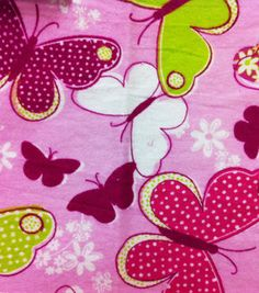 Snuggle Flannel Fabric- Butterfly Flight & snuggle flannel at Joann.com