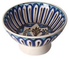 Seljuk Ceramic Bowl with Bird Patterns-1