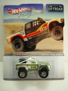 Hot Wheels CUSTOM FORD BRONCO NIP RACING OFFROAD 2012 Real Riders