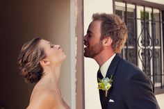 Kiss me through the door :)