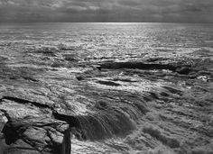 Ansel Adams - National Parks - The Atlantic from Schoodic Point - Acadia National Park - ME 1949