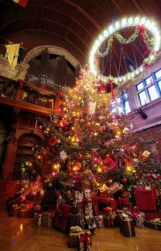 Christmas at Biltmore House by RomanticAsheville.com Travel Guide, via Flickr