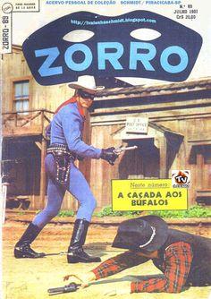 ZORRO Nº 89 / 1ª SÉRIE - 1961 EBAL