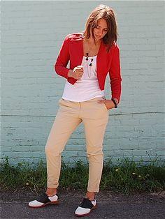 Vintage red jacket :-)