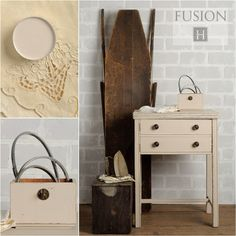 Fusion paint in cathedral taupe via My Painted Door (.com)