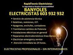 Electricistas BANYOLES 603 932 932 Baratos