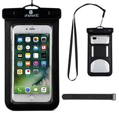 uFashion3C [Touch ID Compatible] iPhone 7 Plus Waterproof Case Bag Pouch with Armband & Lanyard [IPX8 Certified to 100 Feet]- Universal Large Size for iPhone 7,6s,6,Plus, Samsung Galaxy J7,S7,S7 Edge  http://topcellulardeals.com/product/ufashion3c-touch-id-compatible-iphone-7-plus-waterproof-case-bag-pouch-with-armband-lanyard-ipx8-certified-to-100-feet-universal-large-size-for-iphone-76s6plus-samsung-galaxy-j7s7s7-e/  Perfect fits iPhone 7 Plus with Slim Thin Case (Such