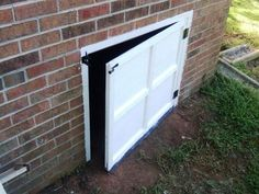 How To Build A Crawl Space Door Home Projects In 2019