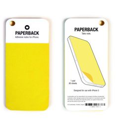 // NEED THESE—adhesive notes for iPhone. I always stick post-its to my phone; they fall off...