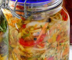 Sałatka z cukinii - Moje Gotowanie - Przepisy - Przetwory - Przetwory warzywne